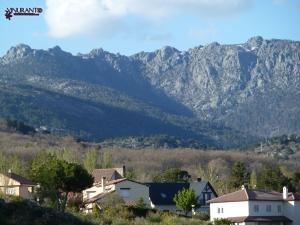 Siete Picos en la Sierra de Guadarrama.