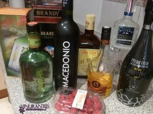 Nuestros ingredientes para mezclar.