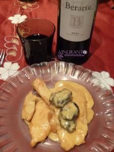 Un delicioso maridaje con los vinos de Berarte.