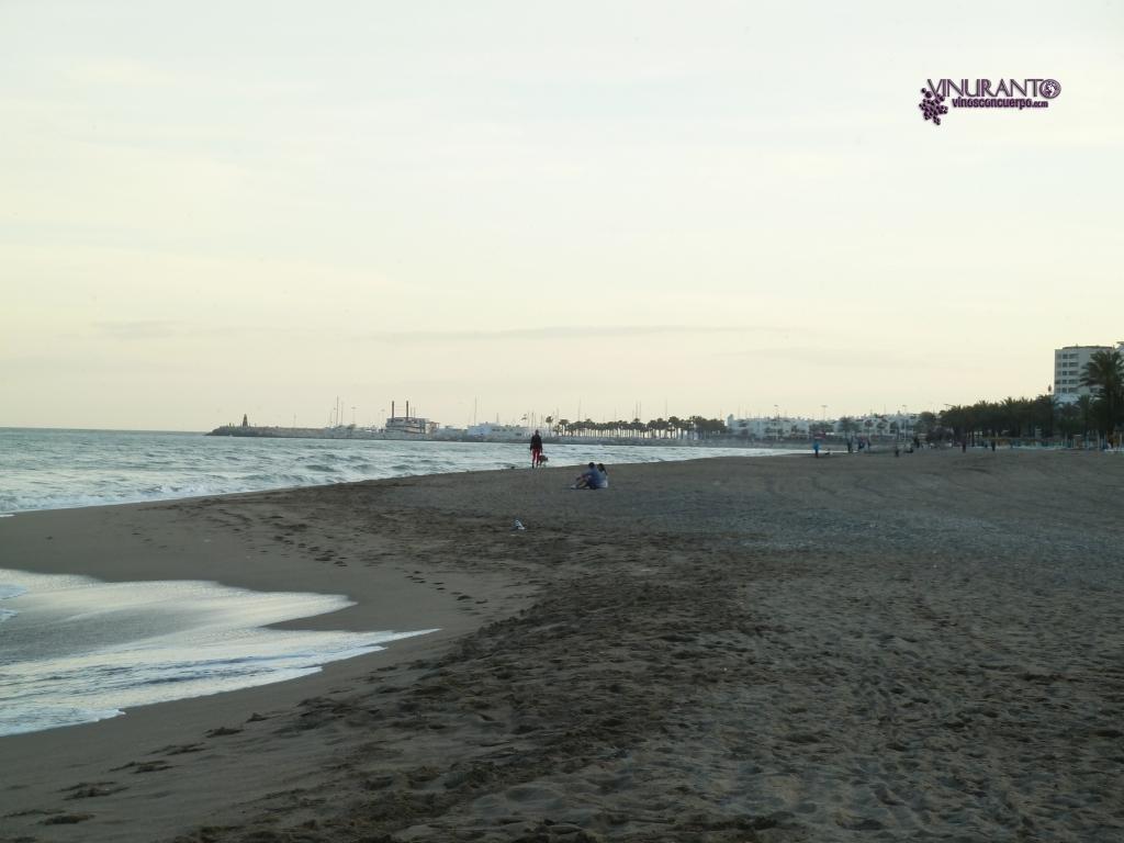 Playa La Carihuela, Torremolinos.