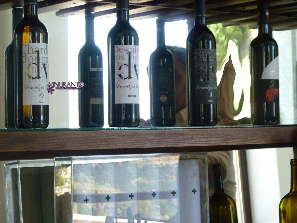 Los vinos de Descalzos Viejos.