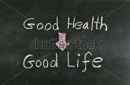 stock-photo--good-health-and-good-life-word-written-on-blackboard-128898959