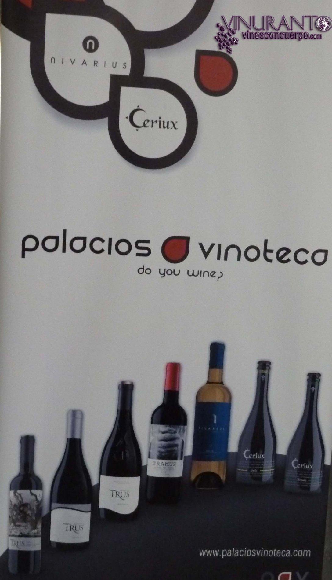 Grupo de empresas Palacios Vinoteca