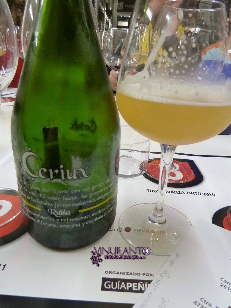 Cerveza Rubia Ceriux
