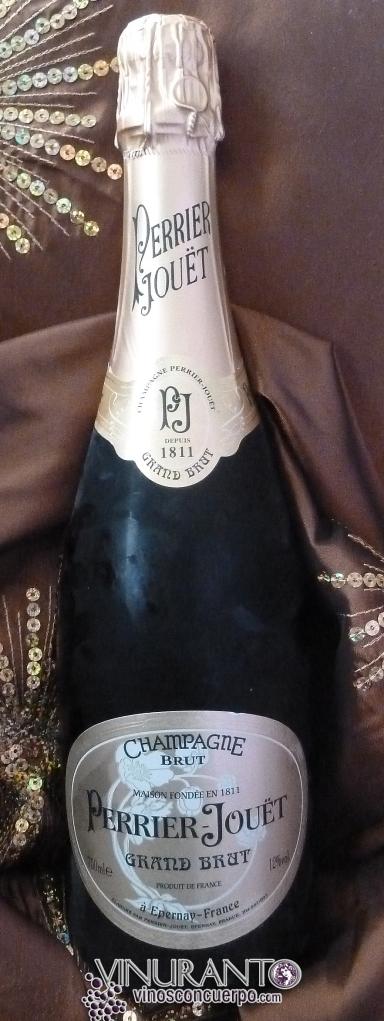 Botella de Perrier Joüet