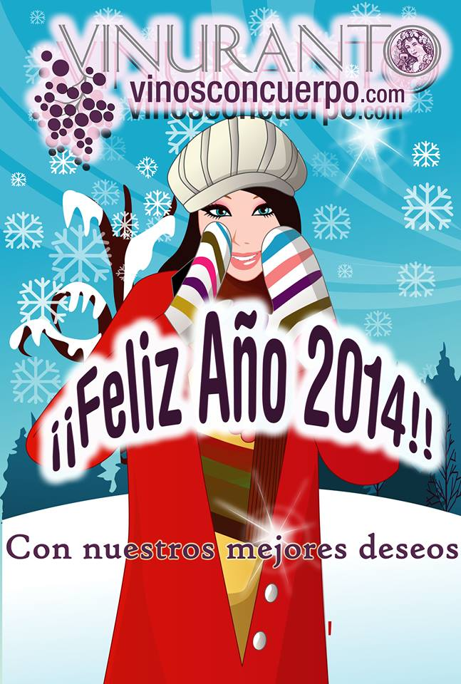 ¡Feliz 2014 de Las Chicas del Vino!