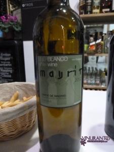 Mayrit 2012. 100% Sauvignon Blanc.