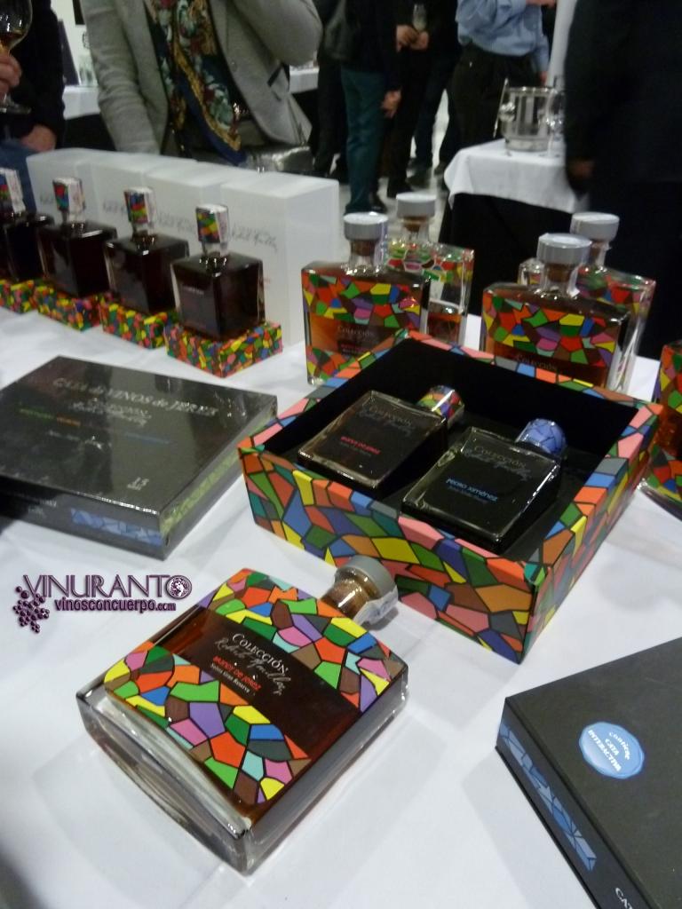 Colección Roberto Amillo. Brandy de Jerez.
