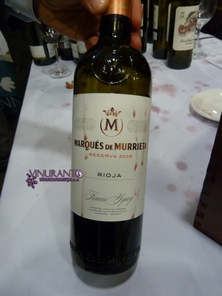 Marques de Murrieta 2008.