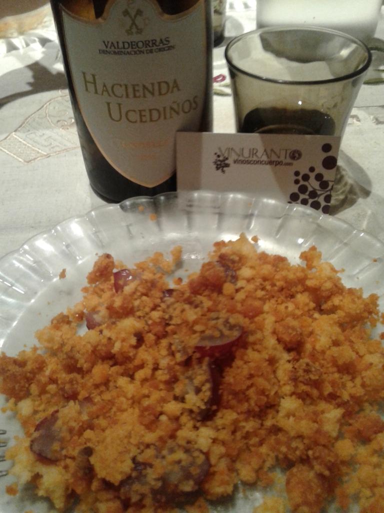 Hacienda Ucediños y migas. ¡Deliciosa combinación!