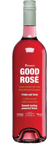 Good Rosé. D.O. Valencia. 100% Tempranillo.