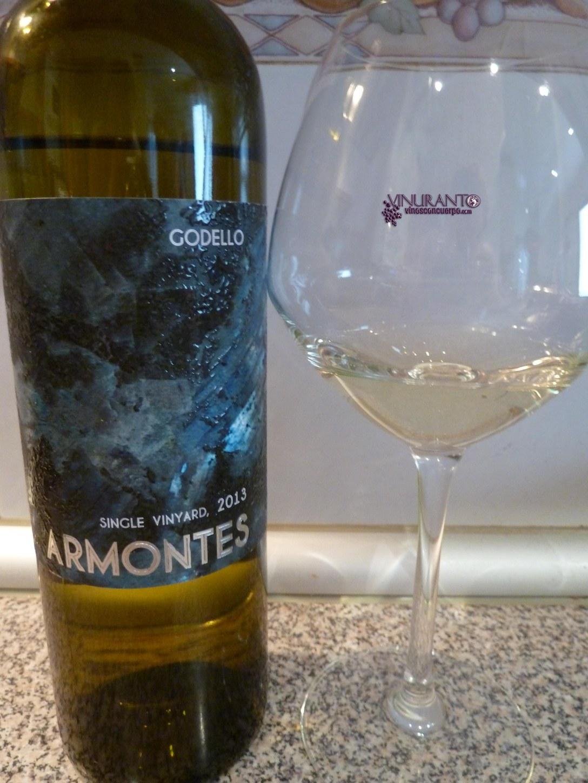 Armontes 2013. 100% Godello.