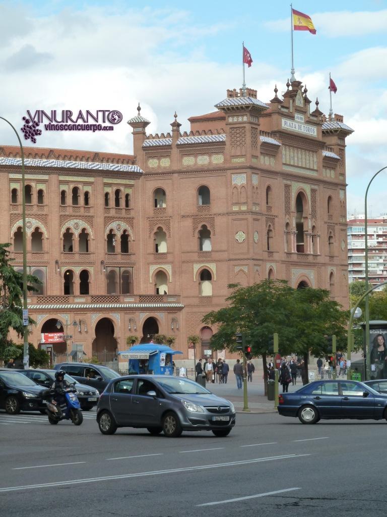 La Plaza de Toros de las Ventas de Madrid, España.