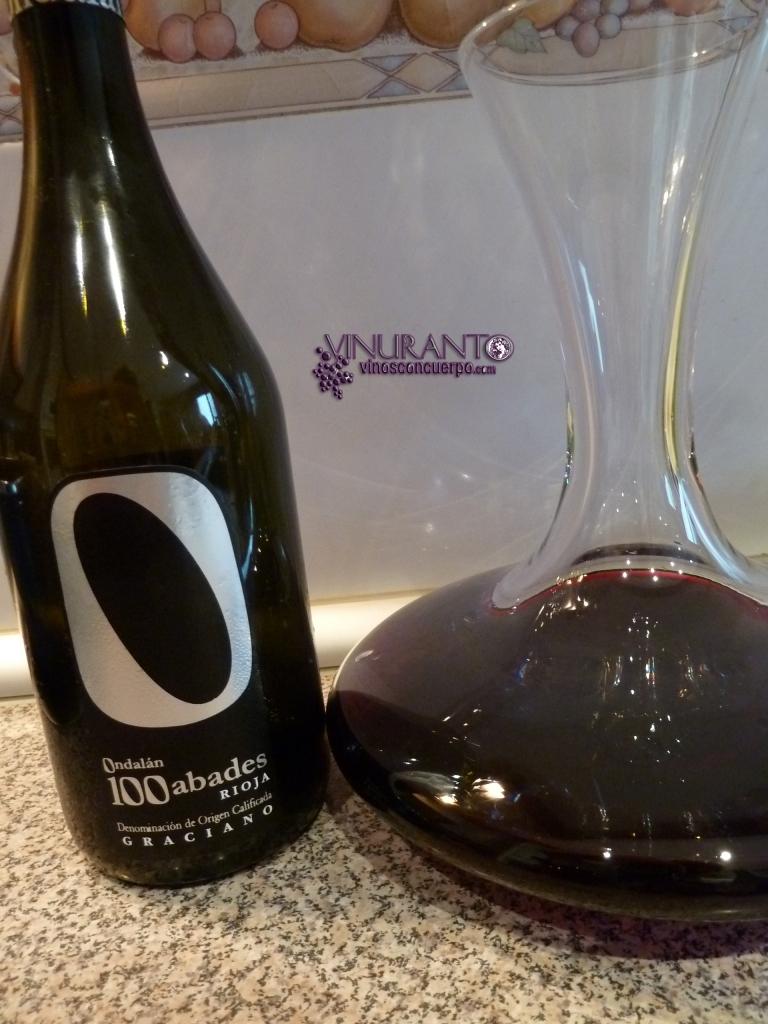 100 Abades. 100% Graciano. D.O.Ca. Rioja
