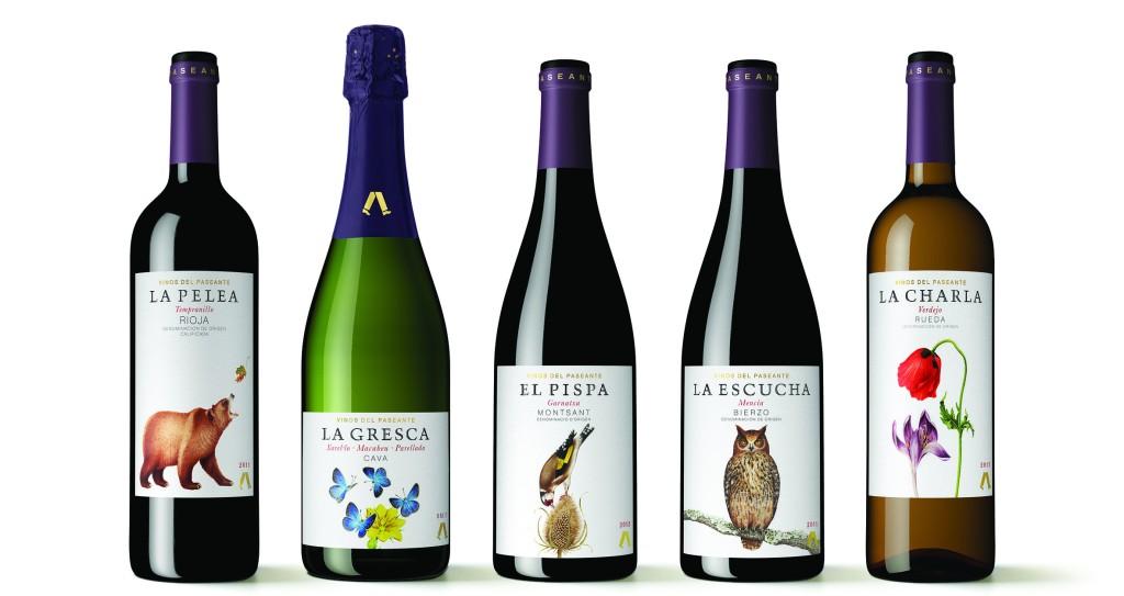 Colección Vinos El Paseante