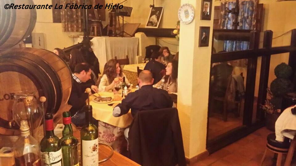 ©2015 Restaurante LA Fábrica de Hielo