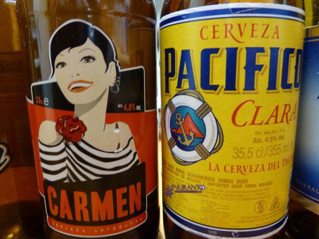 Carmen (Madrid) -Cervez Artesanal-. Pacífico (México).