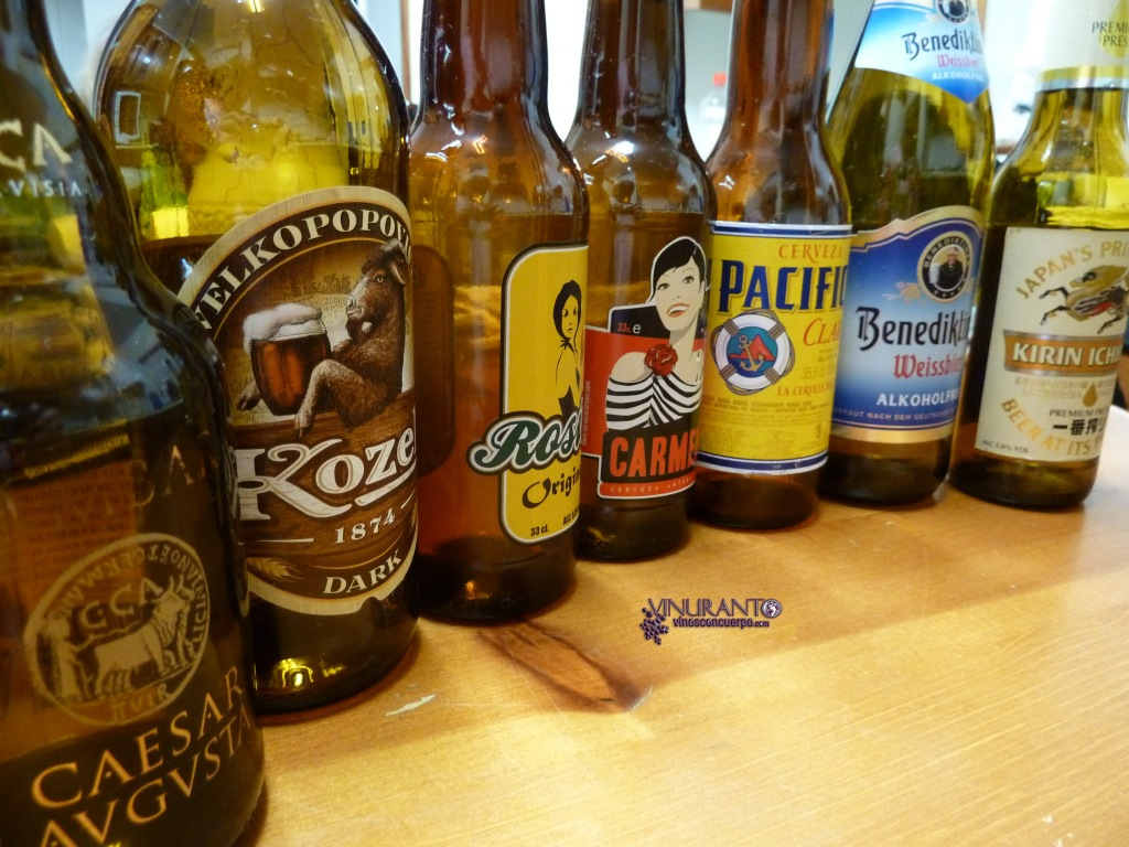 Cervezas artesanales. Cata profana.