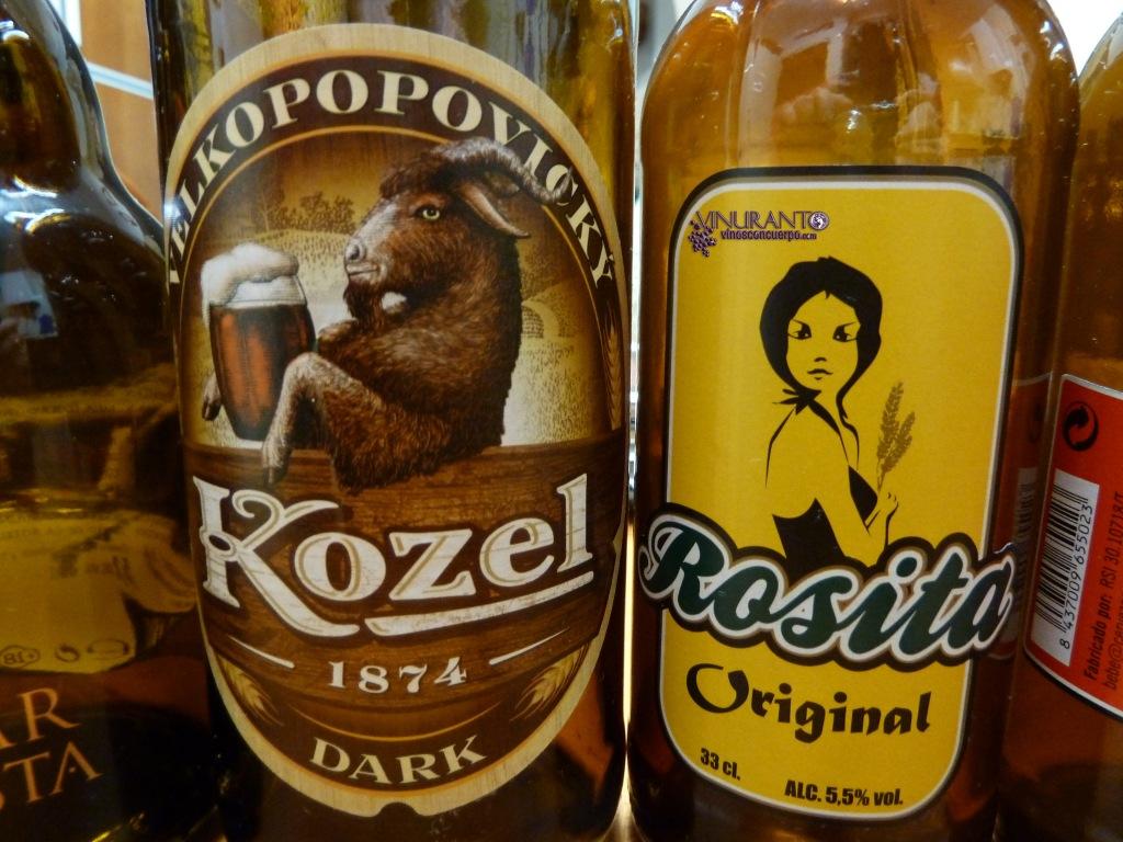 Kozel (Republica Checa) y Rosita Original (Tarragona)