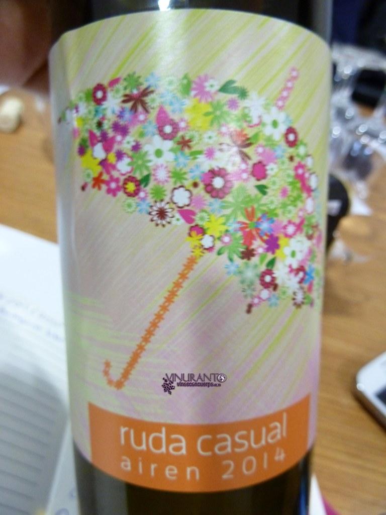 Ruda Casual. V.T. Castilla. 100% Airen.