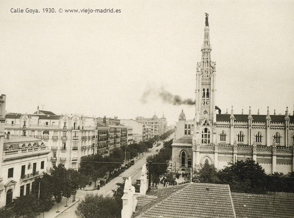 Calle Goya. 1930.