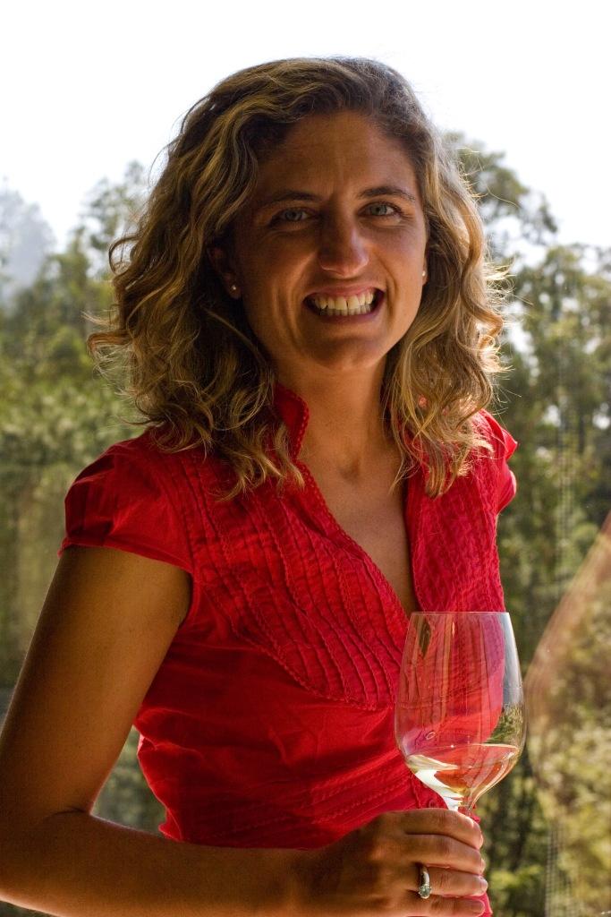 Paula Fandiño, enóloga de Mar de Frades.