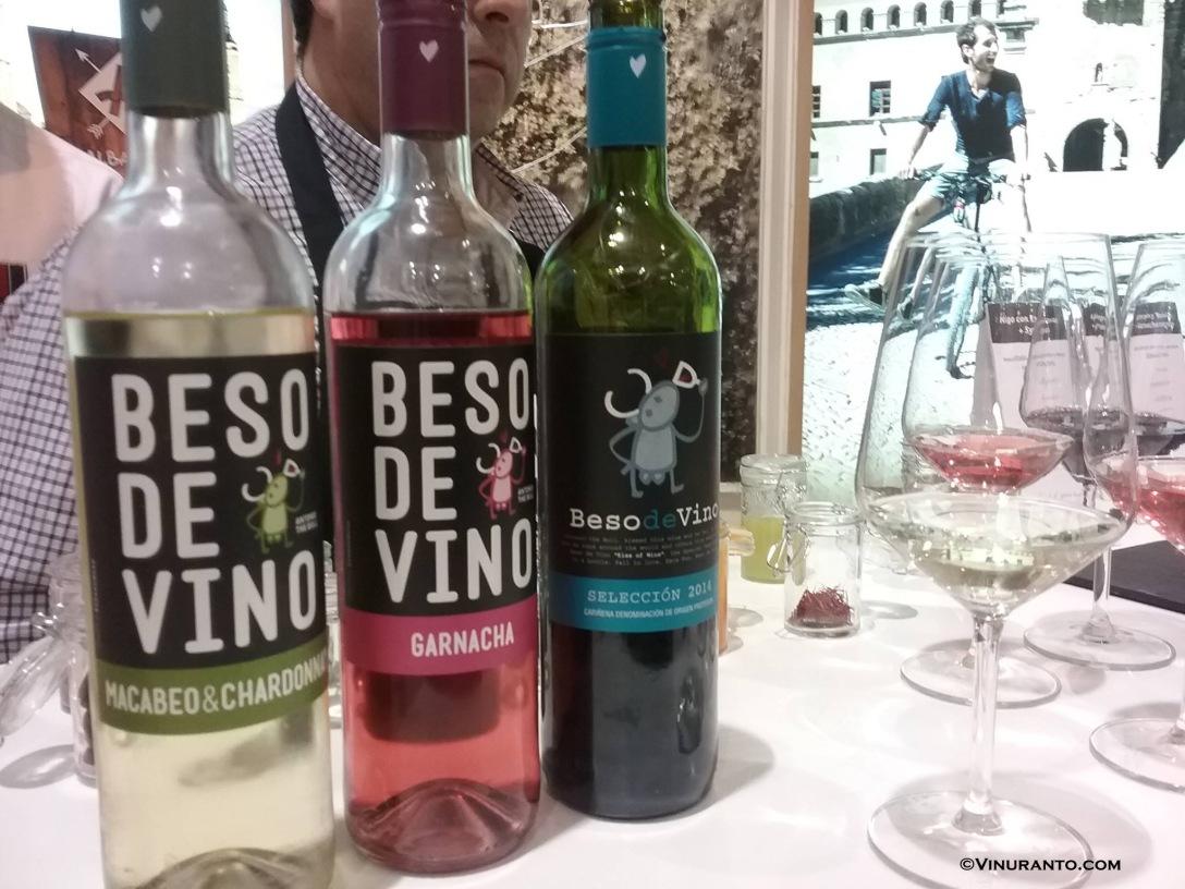 Beso de Vino. D.O. Cariñena